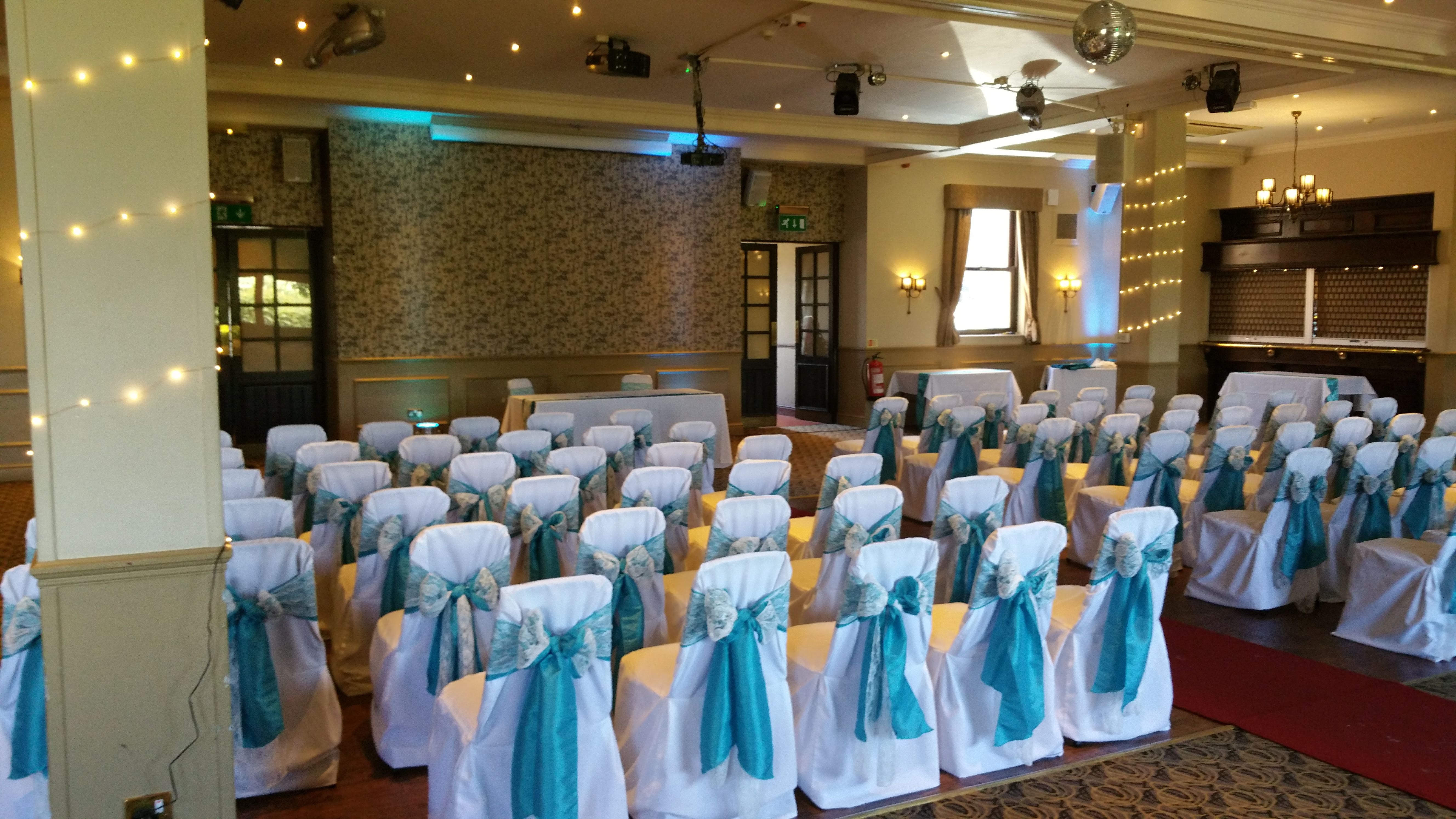 Chair covers balloons wedding and party decoration we specialise in chair cover hire and venue decoration for weddings engagement parties birthday parties childrens parties and corporate events junglespirit Image collections
